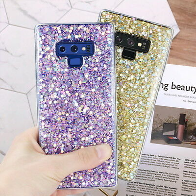 $ CDN4.71 • Buy For Samsung Galaxy Note 9 S9 Plus Shockproof Bling Girl Glitter Soft Case Cover