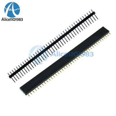 $4.59 • Buy 10PCS Male & Female 40pin 2.54mm Header Socket Row Strip PCB Connector Cool