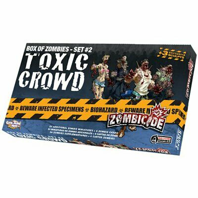 AU35.80 • Buy Zombicide Toxic Crowd Box Of Zombies Set 2 Pack Board Game