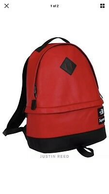 $ CDN449.42 • Buy Supreme X North Face FW 17 Red Backpack Day Pack  Ready To Ship