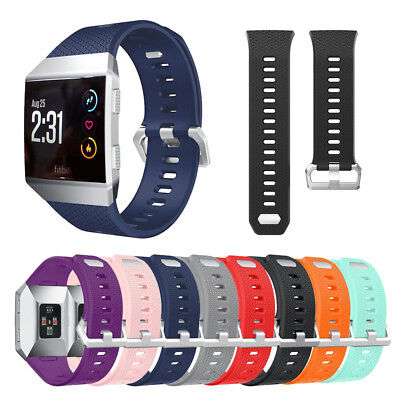 $ CDN8.24 • Buy  Fitbit Ionic Replacement Band Secure Strap Wristband Metal Buckle No Tracker