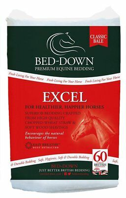 £17.89 • Buy Bed-Down Excel - Horse Bedding Bale Aprox 20 Kg