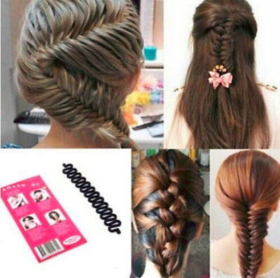$5.99 • Buy New Women Fashion Accessories Hair Styling Clip Stick Bun Maker Braid Tool Hair