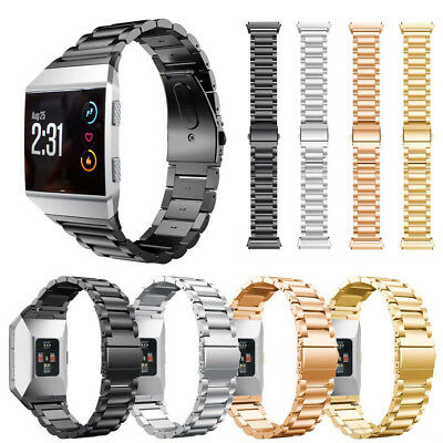 AU29.96 • Buy Replacement Link Metal Band For Fitbit Ionic Secure Strap *UK* Wristband Heavy