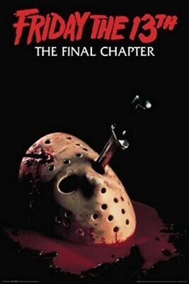 $ CDN7.51 • Buy FRIDAY THE 13TH MOVIE POSTER The Final Chapter 24X36 - PRINT IMAGE PHOTO -PW0