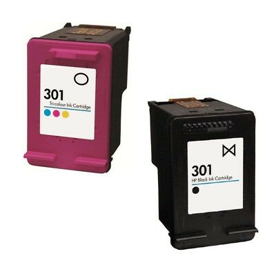 Refilled Ink For HP 301 Black And HP301 Colour Ink Cartridges • 32.49£