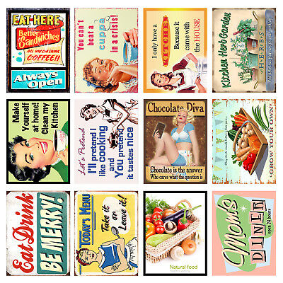£8.36 • Buy Home, Funny, Retro Metal Signs/Plaques, Cool Novelty Gift, Kitchen 4