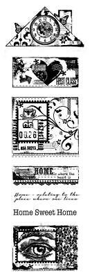 Woodware Clear Magic Singles Stamp - Build A Home 7pcs FRS362 • 5.59£