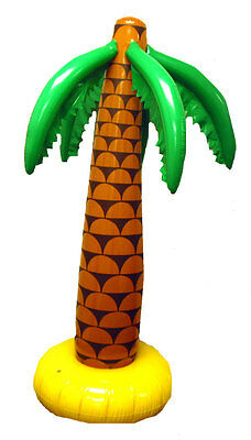 90cm Inflatable Palm Tree Hula Luau Summer Party Prop Decoration Hawaiian Beach • 4.75£