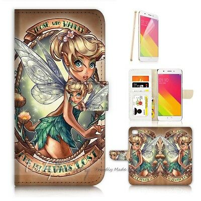 AU12.99 • Buy ( For Oppo A57 ) Wallet Case Cover P21066 TinkerBell