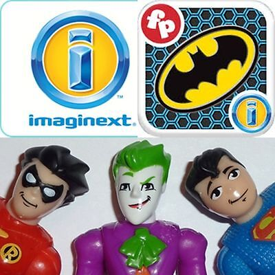 New Fisher Price Imaginext Batman Batcave Replacement Parts And Figures • 14.95£