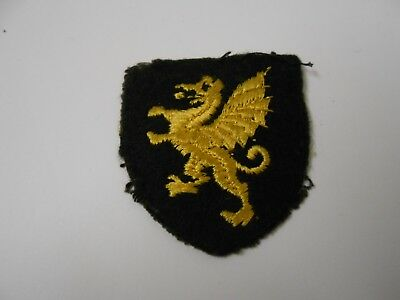 £12 • Buy Wessex ? Dragon   Cloth Formation Sign Military Unit Patch