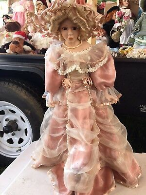 $ CDN22.47 • Buy Collectible Doll Ashley Belle Porcelain With Stand