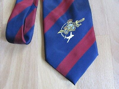 £11.99 • Buy Unidentified MILITARY Interest Possibly Royal Navy Air Arm Tie By Maddocks Dick