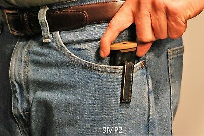 $9.99 • Buy Magazine Holders For Smith & Wesson M&P 2.0 9mm Pistol Magazine - Twin Pack