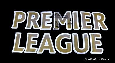 £1.50 • Buy Official Premier League Lextra 07-12 Football Gold Letter Player Size