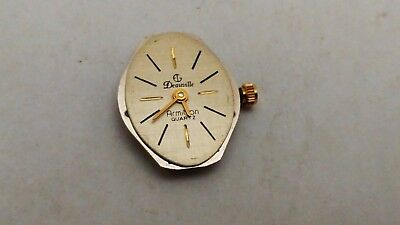 $ CDN22.99 • Buy Vintage Deauville Armitron Harley Ronda 782 Swiss Parts Movement - Working Watch