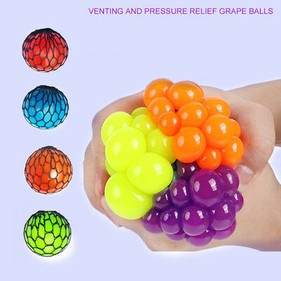 $ CDN2.52 • Buy 5cm Squishy Mesh Sensory Stress Reliever Ball Toy Autism Squeeze Anxiety Fidget