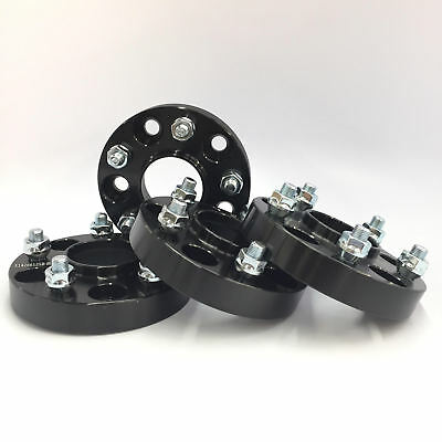 $999 • Buy (4) 5x100 To 5x114.3 Wheel Adapters 56.1 Cb 25mm 1  Inch Black Hubcentric