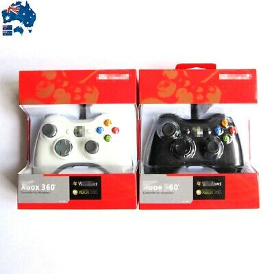AU36.99 • Buy New Wired Gamepad Game Controller For Microsoft Xbox 360 Windows PC Game Console