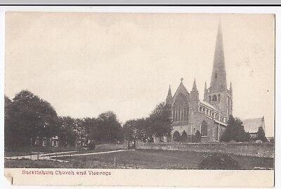 Norfolk; Snettisham Church & Vicarage PPC, Unposted C 1910s • 5£
