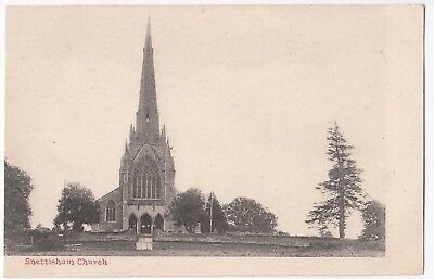 Norfolk; Snettisham Church PPC, Unposted C 1910's • 5£