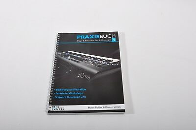 AU108.34 • Buy Practice Book For Yamaha Genos Keyboard Band 130 Pages+Schutzstickerset