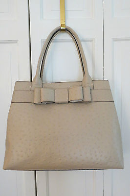 AU244.77 • Buy Large Kate Spade Ostrich Diehl Purse/Shoulder – Beige – NWT - $498