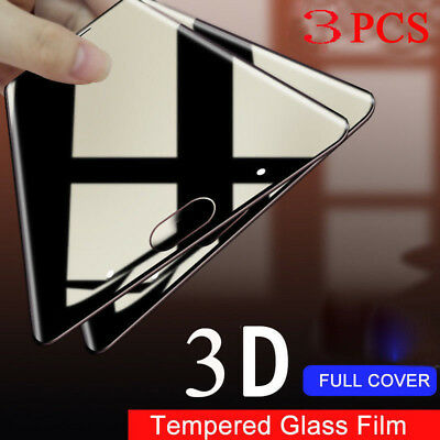AU3.83 • Buy For Oneplus 5T 5 3D 9H Full Cover Tempered Glass Screen Protector Film Lot 3Pcs