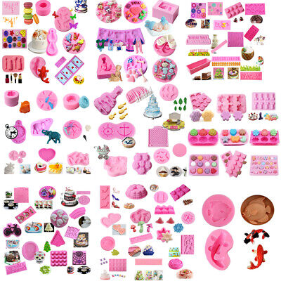 $ CDN3.14 • Buy Silicone Fondant Mold Cake Decorating DIY Chocolate Sugarcraft Baking Mould Tool