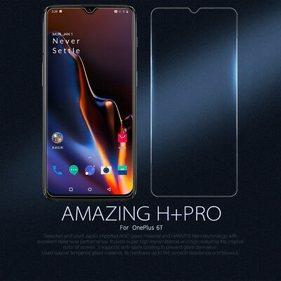 AU10.40 • Buy Nillkin 9H Hard Tempered Glass Screen Protector For OnePlus 7T 7 6T 6 5T