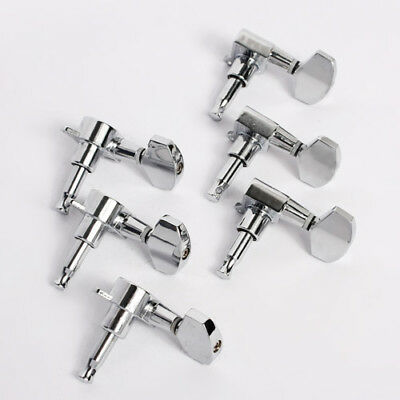 $13.99 • Buy Electric Acoustic Guitar String Tuning Pegs Keys Tuners Machine Heads 3x3 Chrome
