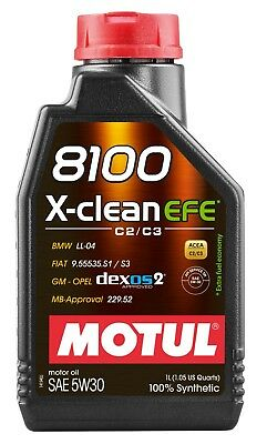 $ CDN39.99 • Buy Motul 8100 X-clean Efe 5w-30 100% Synthetic Engine Oil 1l
