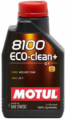 $ CDN46.99 • Buy Motul 8100 Eco-clean+ 5w-30 100% Synthetic Engine Oil 1l