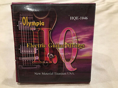 $ CDN7.12 • Buy Olympia HQE-1046 Nickel Wound 10-46 Electric Guitar Strings