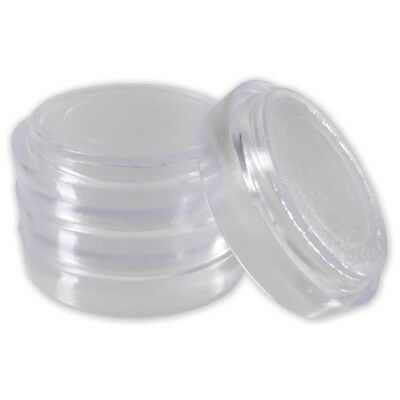 4x LARGE CLEAR FLOOR PROTECTORS | Anti Indents & Marks Castor Cups For Furniture • 3.54£
