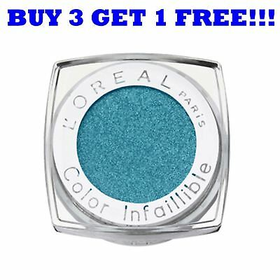 L'Oreal Color Infallible Mono Eye Shadow 52 Immaculate Ocean • 2.99£