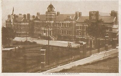 Kent; Naval Barracks, Chatham PPC, By Saywell Of Gillingha, Unposted • 5£