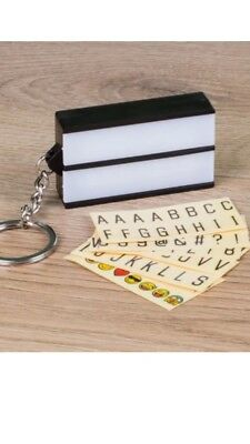 £7.99 • Buy KEYCHAIN LIGHTBOX - Make Your Own Message - LOOM - THUMBS UP
