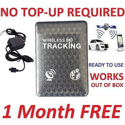 1 Month FREE Global Tracking Car Vehicle Spy Mini Personal Tracking Device Track • 49.89£