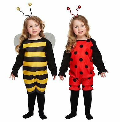 Toddler Insect Fancy Dress Outfit Girls Costume Book Week • 6.49£