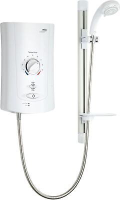 £359.98 • Buy Mira Advance Electric Shower Thermostatic Assistive White Chrome 9kW Power