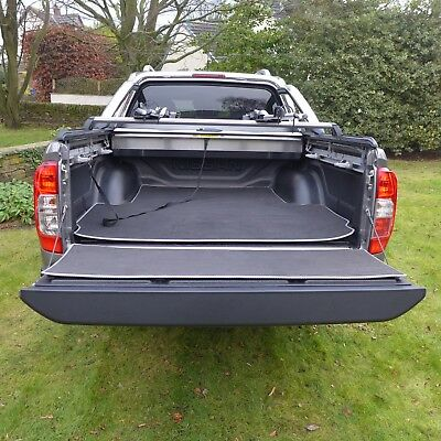 Nissan Navara NP300 High Quality Load Bed And Tailgate Non-Slip Mat Set • 69.95£