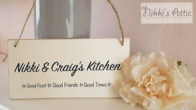 Personalised Plaque Kitchen , Family Name, Sign, Gift, Homeware, Handmade,  • 4.75£