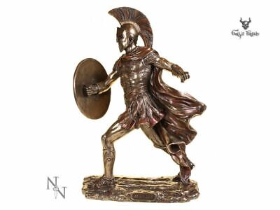 Achilles Greek Warrior Statue Vintage Ornament Figurine Ancient Sculpture Decor • 45£