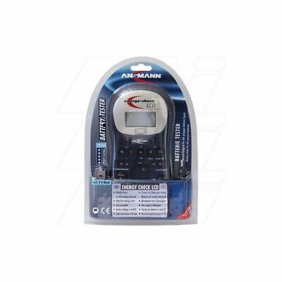 AU94 • Buy  Ansmann Energy Check LCD Battery Test Station For Battery Analysers And Testers