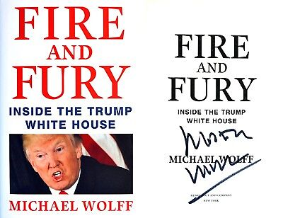 AU106.34 • Buy Michael Wolff~ SIGNED IN PERSON~Fire And Fury~1st Edition HC + Photos!!