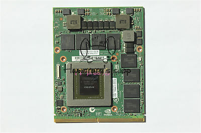 $ CDN443.78 • Buy Dell M6700 M6800 Nvidia Quadro K5000M 4GB GDDR5 MXM Video Card N14E-Q5-A2 1KJ4N