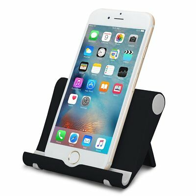 $4.99 • Buy Universal Foldable Cell Phone Desk Stand Holder Mount Cradle For Phone Tablet