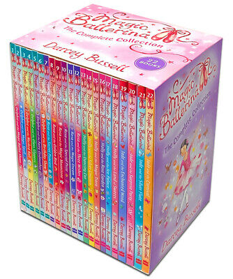 £22.95 • Buy Magic Ballerina 22 Book Set Collection By Darcey Bussell Ballet Shoes,Magic Spel